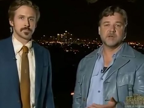 Ryan Gosling just got that bit cooler after he videobombed Russell Crowe at the Australian Academy Awards