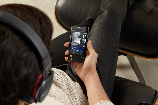 Sony has resurrected the Walkman with a new player built for digital files which sound better than CD (Picture: Sony)