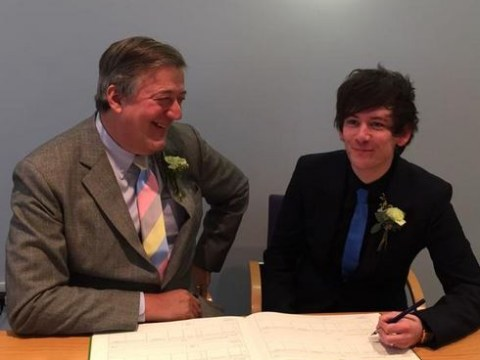 Stephen Fry reveals baby plans with husband Elliott Spencer