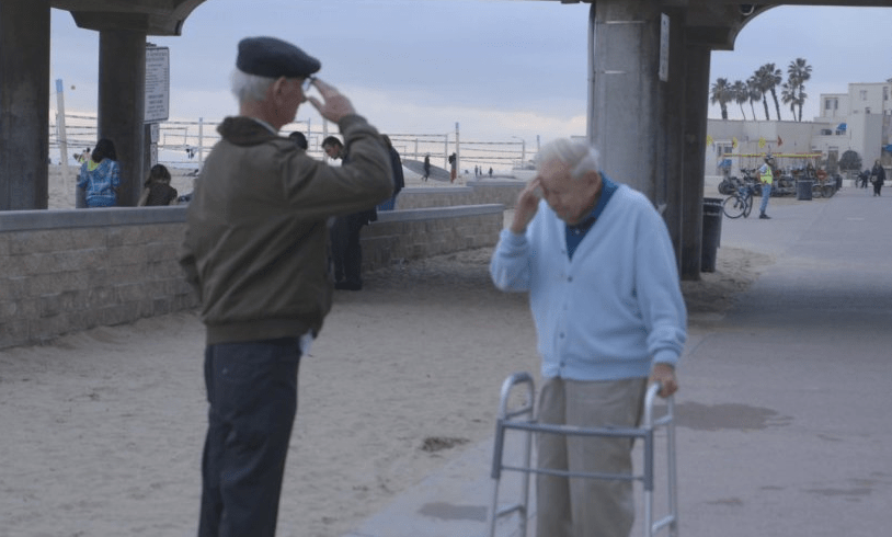 Holocaust survivor reunited after 70 years with soldier who freed