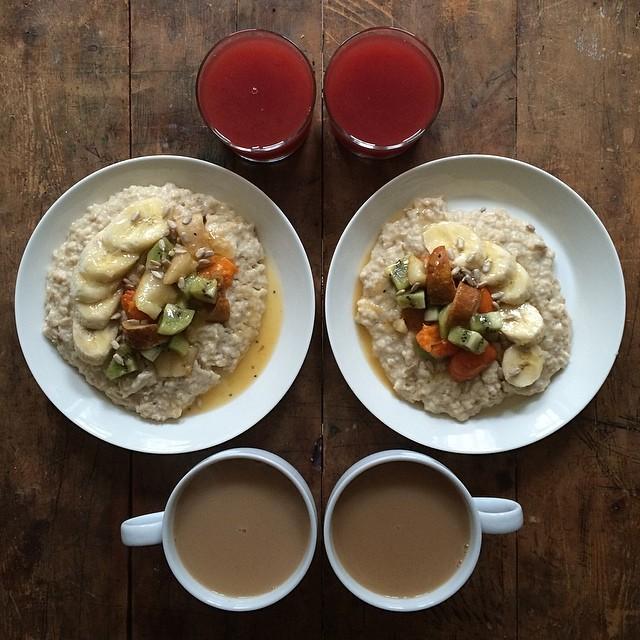 Symmetry Breakfast porridge