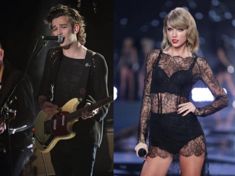The 1975's Matt Healy says being Taylor Swift's boyfriend would be 'emasculating'