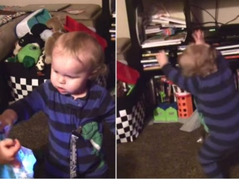 This adorable little boy is all of us drunk-dancing to Frozen