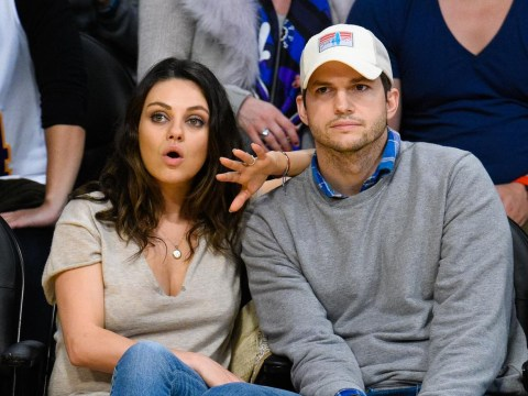 Ashton Kutcher and Mila Kunis on self-imposed sex ban after birth of baby