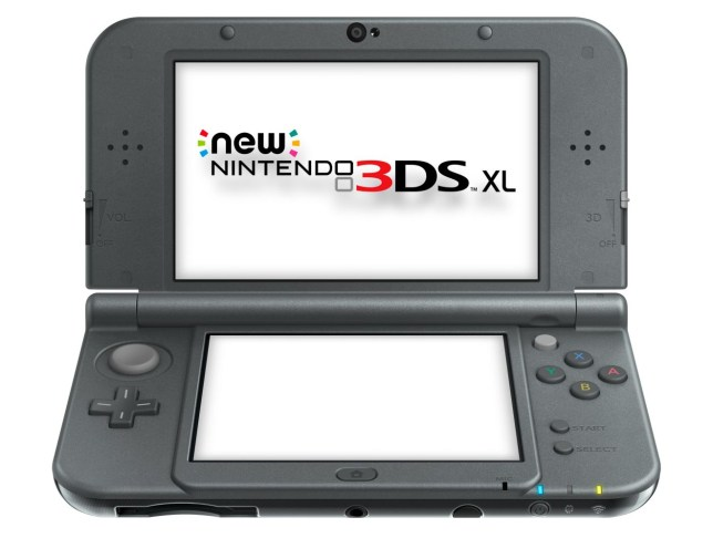 The American New 3DS only comes in one size: extra large