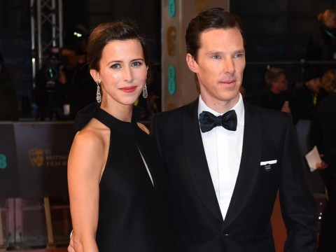 Love is in the air: Benedict Cumberbatch and Sophie Hunter 'set to get married on Valentine's Day'