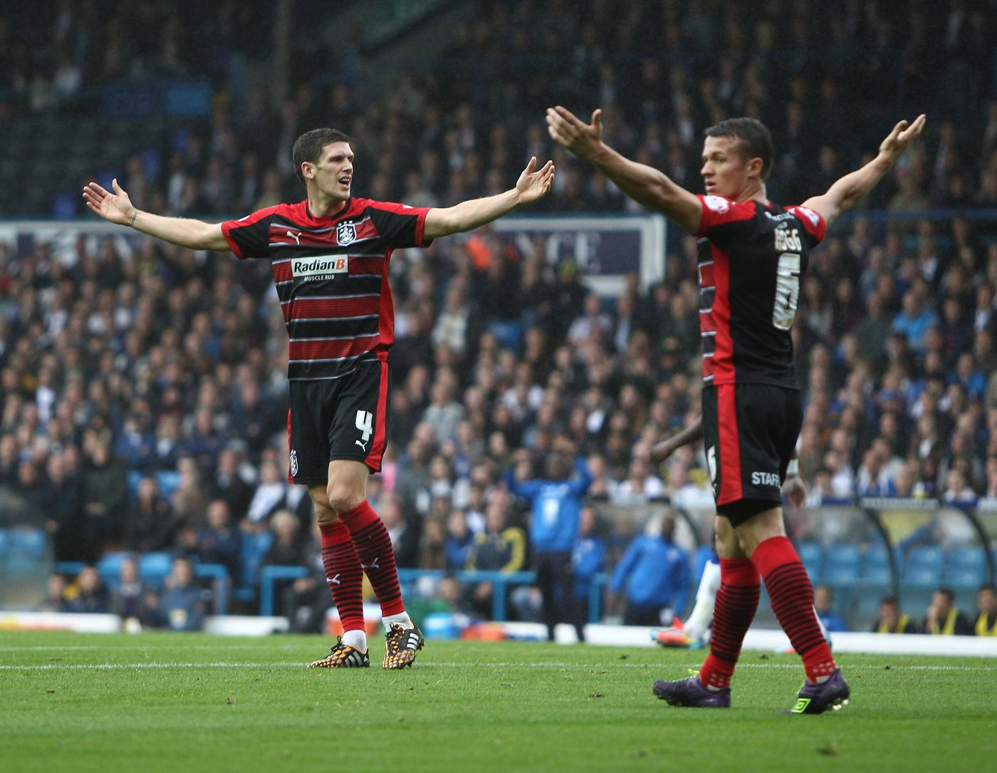 Huddersfield Town's defensive rock Mark Hudson can show former club Cardiff what they're missing