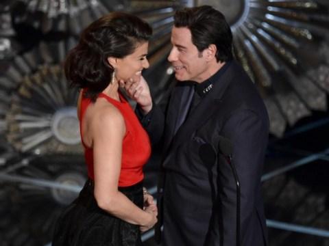 Oscars 2015: John Travolta insists his Idina Menzel face-touching wasn't 'creepy'
