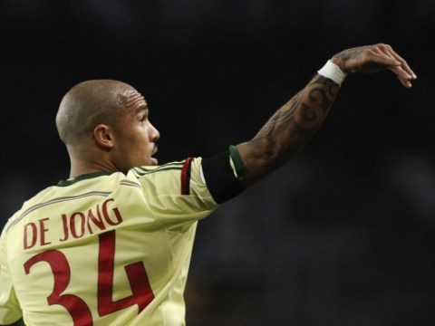 Manchester United 'to sign former City star Nigel de Jong on free transfer'