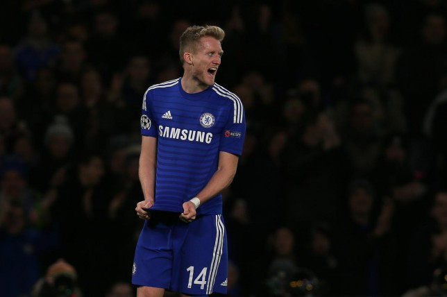 Andre Schurrle could yet stay at Chelsea