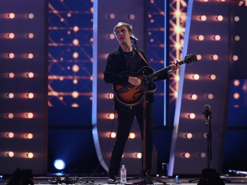 George Ezra almost decapitated by train in near miss
