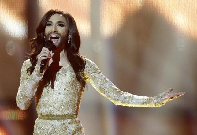 Conchita Wurst celebrates Eurovision victory anniversary