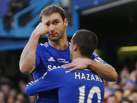 Chelsea defender Branislav Ivanovic now just one Premier League goal away from matching Fernando Torres' Blues record