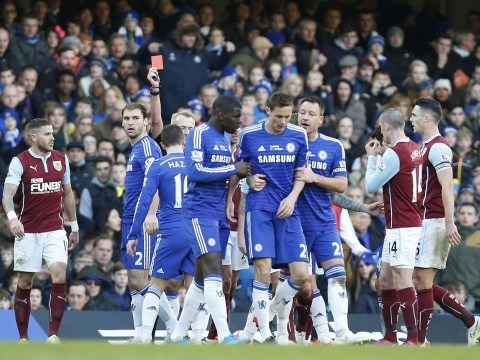 Chelsea slam FA as Nemanja Matic red card suspension only reduced to two games after Ashley Barnes shove