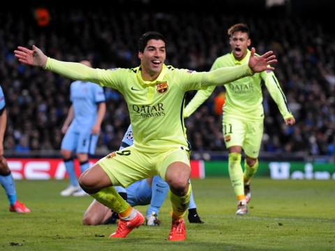Luis Suarez hits back at British media over Martin Demichelis biting allegations during Manchester City v Barcelona Champions League clash
