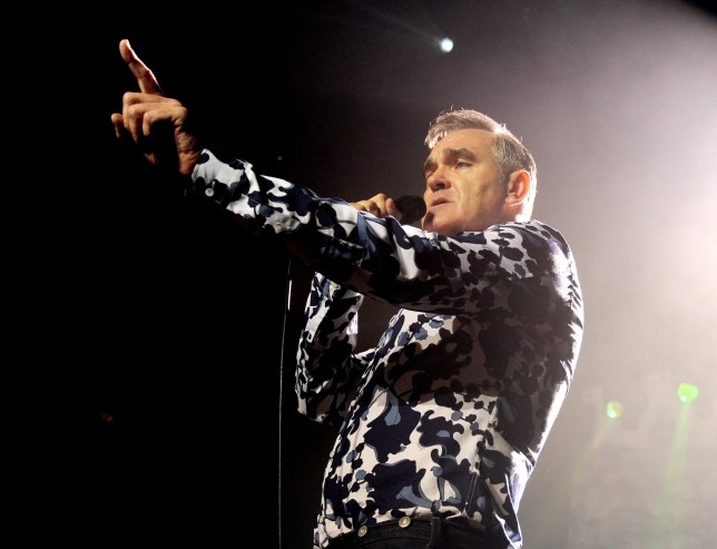 Morrissey is an outspoken advocate of animal rights (Picture: Getty Images)
