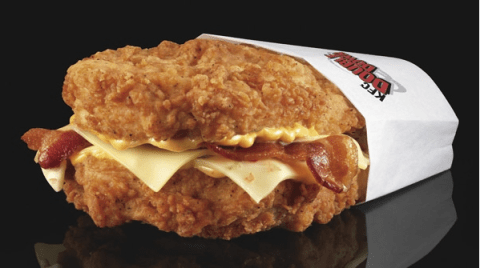 50 years of KFC in 10 delicious/insane menu items