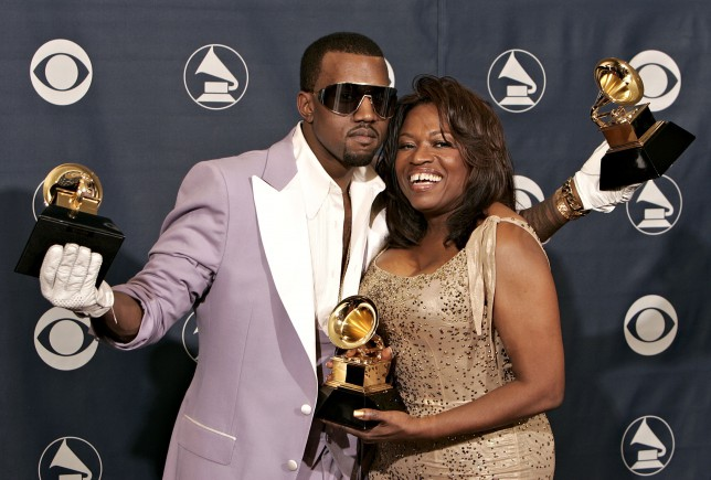 Kanye West is working on a video game about his late mother going to heaven