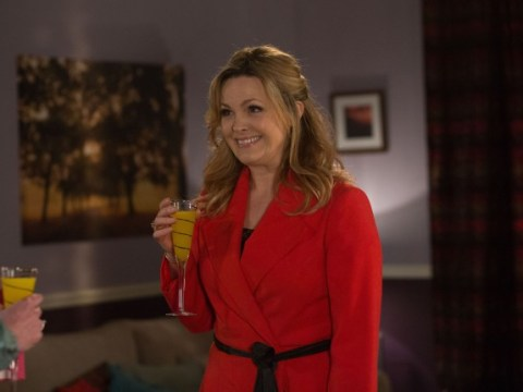 'At least you know it's live': 'Gutted' Jo Joyner laughs off 'how's Adam' gaffe during second EastEnders live episode