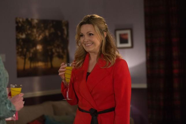EastEnders - TX: 18/02/2015 - Episode: 5016 (No. n/a) - Picture Shows: Tanya arrives for the wedding. Tanya Branning (JO JOYNER) - (C) BBC - Photographer: Jack Barnes