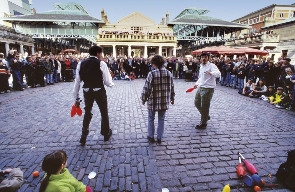 The piazza at Covent Garden (Pic: supplied)