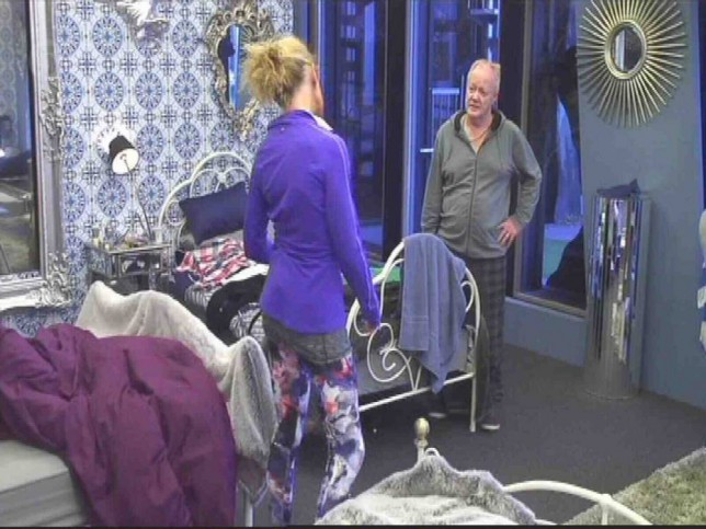 EROTEME.CO.UK If bylined, must credit Channel 5 Celebrity Big Brother Day 24 Highlights Keith Chegwin and Katie Hopkins have an argument. Hosted by Emma Willis   NON-EXCLUSIVE: Saturday 31st January 2015 Job: 150131UT11 EROTEME.CO.UK 44 207 431 1598 Disclaimer note of Eroteme Ltd: Eroteme Ltd does not claim copyright for this image. This image is merely a supply image and payment will be on supply/usage fee only.
