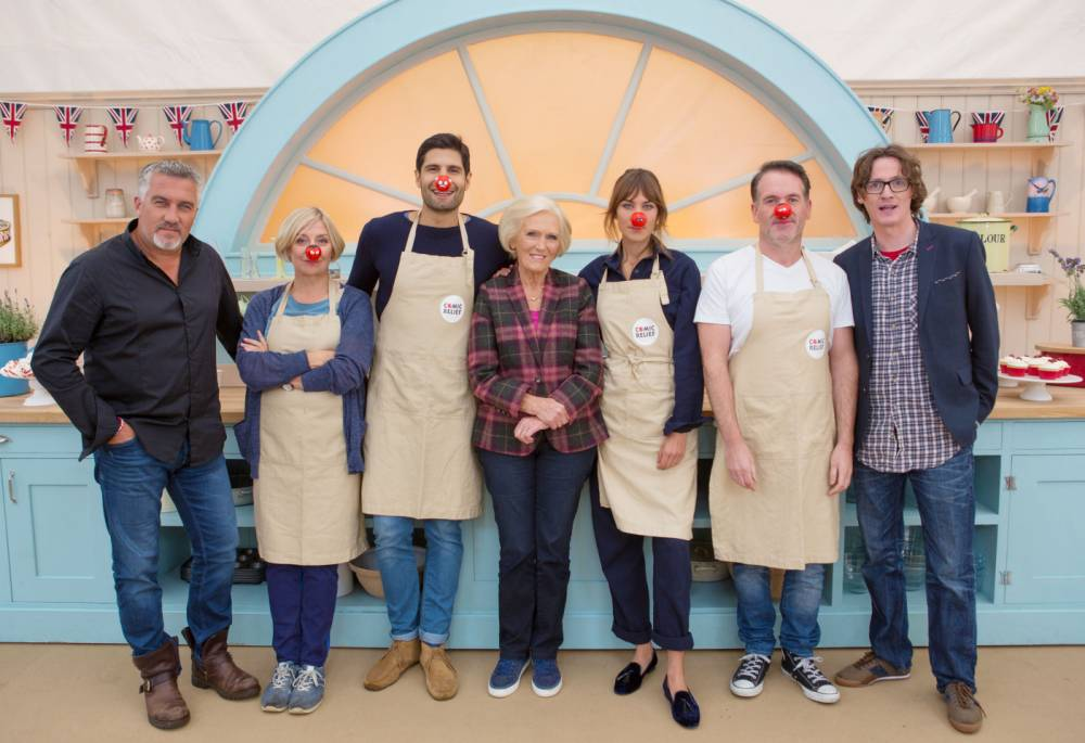 Zoella, Alexa Chung and Joanna Lumley join Comic Relief Bake Off lineup… and isn't Chris Moyles looking trim?!