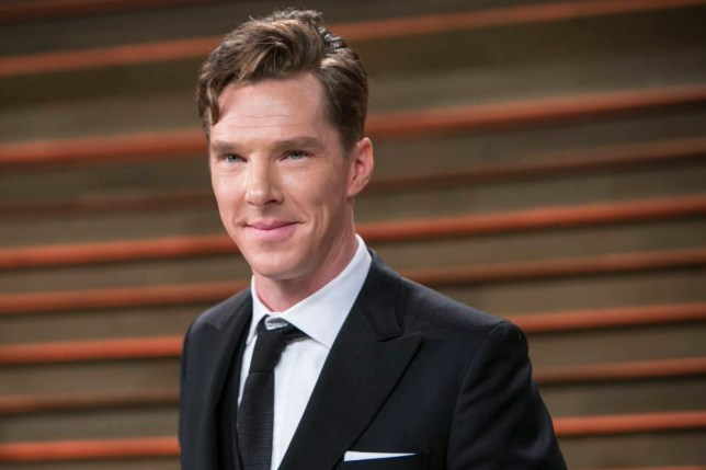 Benedict Cumberbatch arrives to the 2014 Vanity Fair Oscar Party on March 2, 2014 in West Hollywood, California. AFP PHOTO/ADRIAN SANCHEZ-GONZALEZ        (Photo credit should read ADRIAN SANCHEZ-GONZALEZ/AFP/Getty Images)