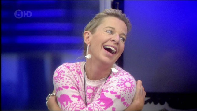 So Katie Hopkins flashes her hubby (and her neighbours) in the mornings…