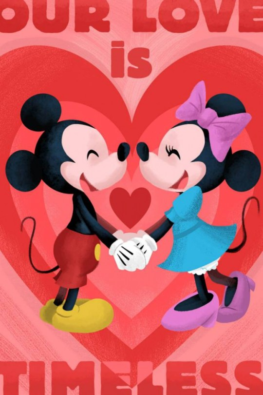 Disney Valentine's Day cards