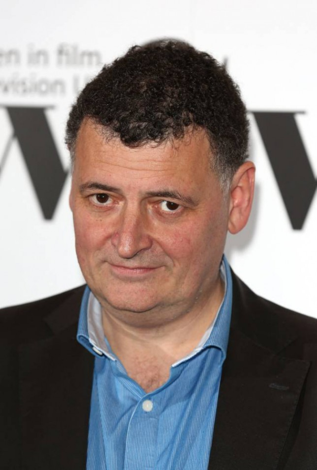 LONDON, ENGLAND - DECEMBER 05:  Steven Moffat attends the Sky Women In Film and TV Awards at London Hilton on December 5, 2014 in London, England.  (Photo by Tim P. Whitby/Getty Images)