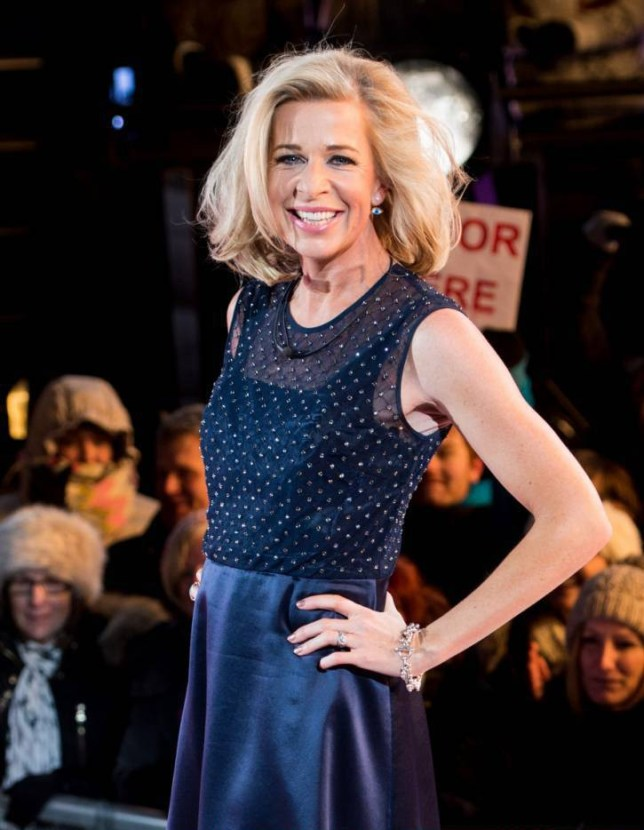 BOREHAMWOOD, ENGLAND - FEBRUARY 06:  Katie Hopkins is evicted from the Big Brother house at Elstree Studios on February 6, 2015 in Borehamwood, England.  (Photo by Ian Gavan/Getty Images)