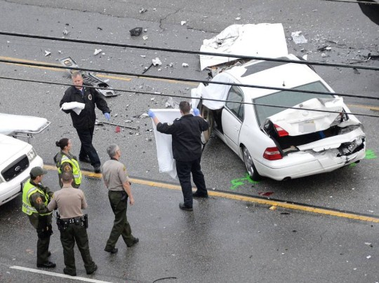 Bruce Jenner car crash: Police to look into Bruce Jenner's phone
