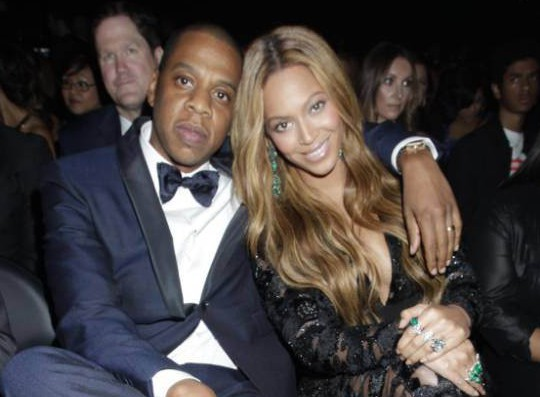 Jay Z attends the Grammys having forgotten a crucial part of his outfit