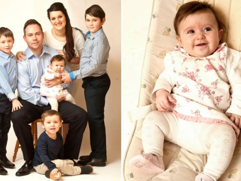 A family have welcomed a baby girl to their family for the first time in 200 years