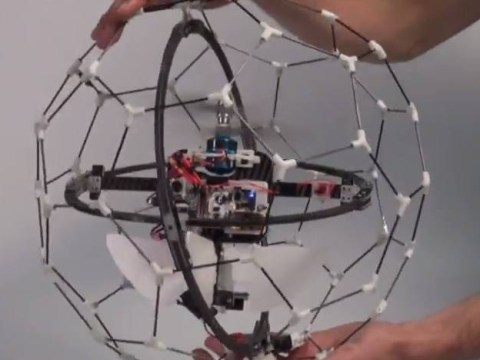 This 'collision-proof' drone could be the future of disaster relief