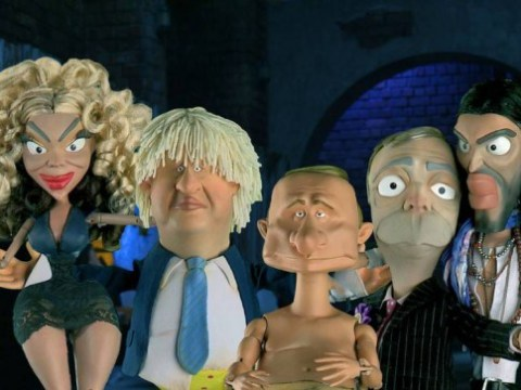 How many can you recognise? Famous faces get a latex makeover for Spitting Image-style satire Newzoids