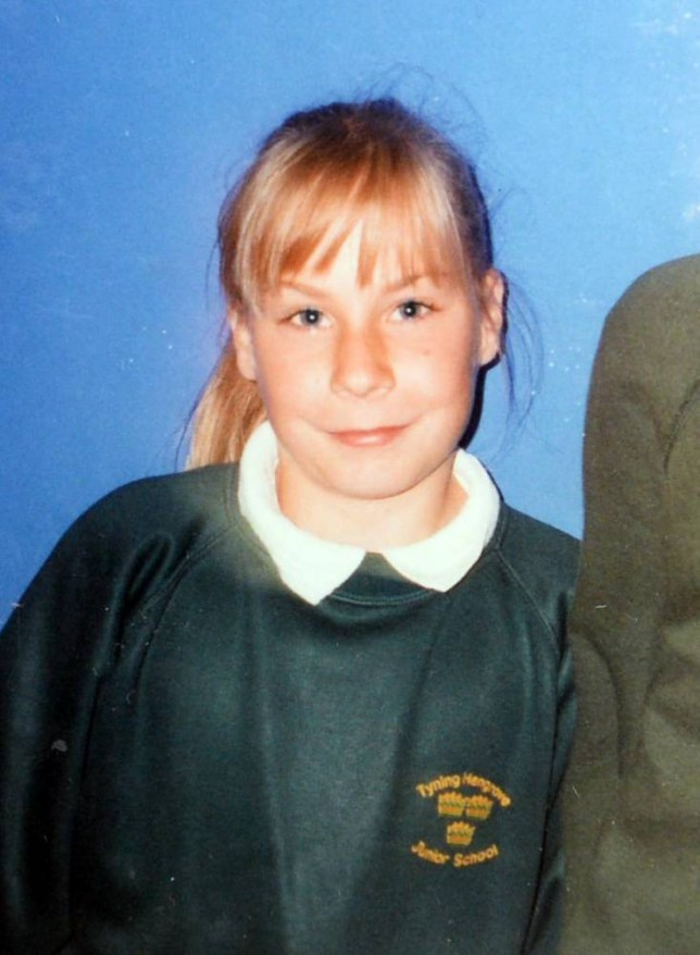 Sean Horton aged 12 at school when he was known as Sian. See SWNS story