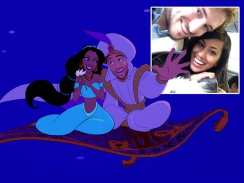 Smooth: Guy turns his girlfriend into a Disney princess for Valentine's Day