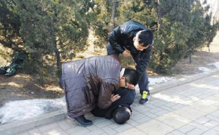 "Pic shows: This Chinese man, identified as Liu Hung, decided to kidnap a young woman off the streets. He was arrested.nnA Chinese man fed up with being nagged by his parents about not having a wife decided to solve the problem by kidnapping a young woman off the streets.nnLiu Hung, 32, who worked as a bank clerk was regarded as hard-working, but had struggled to find a girlfriend. And every year during the Chinese New Year which takes place in February, he had travelled home to get a grilling from his parents as to why he had not married.nnUnable to face it again this year, he had decided to solve the problem by forcing a young woman to marry him by kidnapping her off the streets.nnSo after finishing work, he had waited in a local park in the bushes for a suitable candidate to walk past, and then pounced. After tying up her hands with rope and putting tape over her mouth, he had then carried her home to the city of Daliang, in the south of Liaoning Province, in north-eastern China.nnThe next day he had explained that they were to get married, and had set off to arrange the formalities for the speedy wedding. But the young victim, not named, managed to partially free one of her hands and use that to dial her boyfriend's number using the man's landline telephone.nnHe had then raised the alarm with police who traced the number and arrested Liu as he arrived home with the paperwork for the wedding. Images showing him being pinned to the ground by plain clothes police officers quickly went viral in China.nnHe admitted kidnapping the young woman but said it was the only way he could solve the problem of finding a young woman to keep his family happy.nnHe reportedly told police: ""I am the only one in my family without a girlfriend or wife, and I was fed up of going home and simply getting a hard time.""nnChina has a major problem with a shortage of women compared to men because of the country's one child policy that resulted in many girl babies being aborted in the hope that the next pregnancy would be a boy. Boys are preferable for Chinese parents because they tend to live near their own parents, and are expected to be joined by their wives so that the couple can care for the man's relatives.nnThis often leaves the relatives of the woman neglected and many parents have made it clear they would prefer a son, especially in rural communities where children are expected to help their parents in old age.nn(ends)  nn"