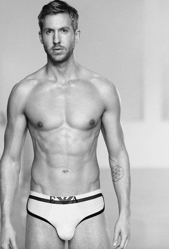 EMPORIO ARMANI RELEASES ITS NEW UNDERWEAR CAMPAIGN FEATURING CALVIN HARRIS We are pleased to announce that the internationally renowned DJ, producer and songwriter Calvin Harris, already a brand ambassador for the Emporio Armani, will now also be the new face of Emporio Armani Underwear for Spring/Summer 2015 Season.  The campaign was shot in Los Angeles by photographer Boo George.