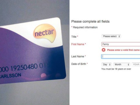 Woman refused Sainsbury's Nectar card because her first name is Fanny