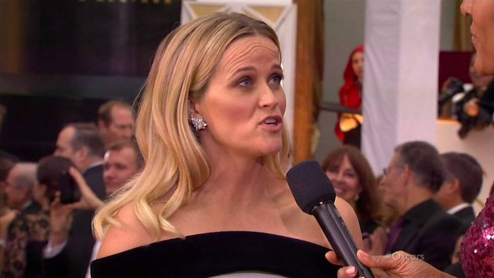 Oscars 2015: Reese Witherspoon's forehead lines seemed to have a mind of their own