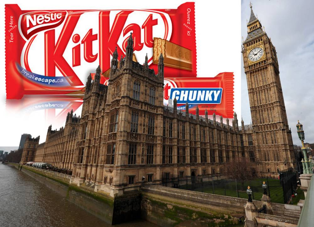 Chocoholic MPs munched through 39,000 KitKats in two years