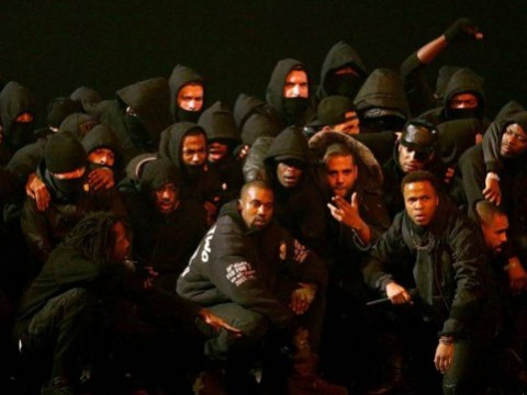 Kanye West's N-word-filled Brits performance is practically pointless after nearly every other word gets audio muted