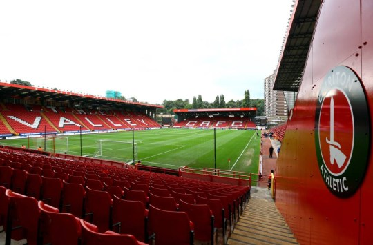 A general view of the stadium ahead of the Sky Bet Championship match between Charlton Athletic and Blackpool at The Valley in London, England.     LONDON, ENGLAND - OCTOBER 5:   (Photo by Jan Kruger/Getty Images)
