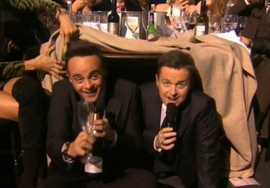 Brit Awards Ant and Dec