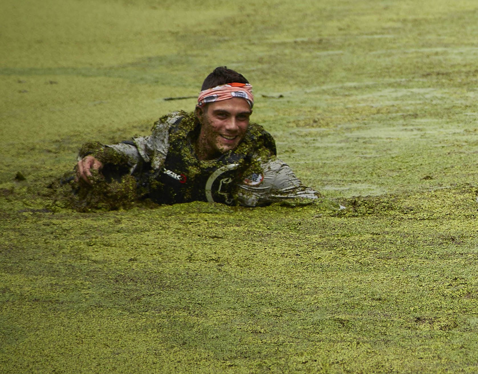 Bear Grylls' Mission Survive: Max George smothered in algae? Oh go on then…