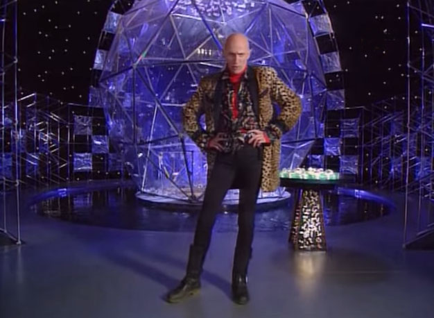 Richard O'Brien hosts The Crystal Maze (Photo: YouTube/Channel 4)