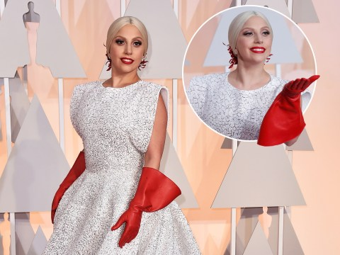 So Lady Gaga wore oven gloves to the Oscars